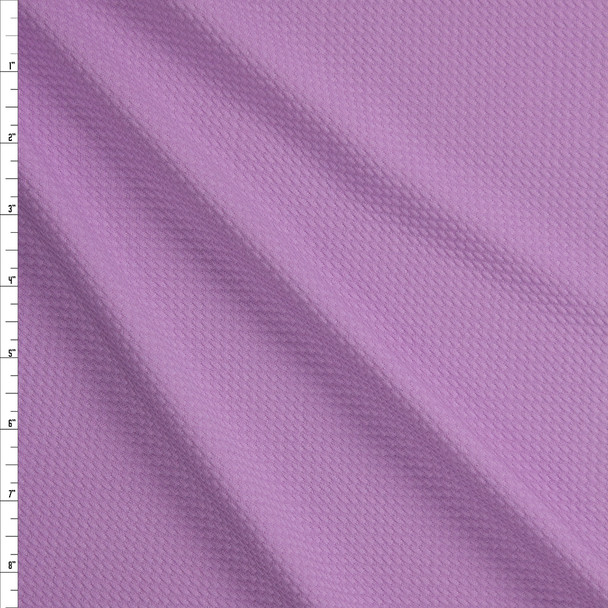 Solid Lilac Bullet Liverpool Knit Fabric By The Yard