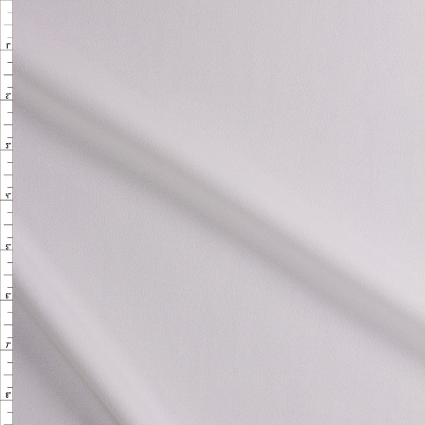 Ivory Stretch Crepe Knit Fabric By The Yard