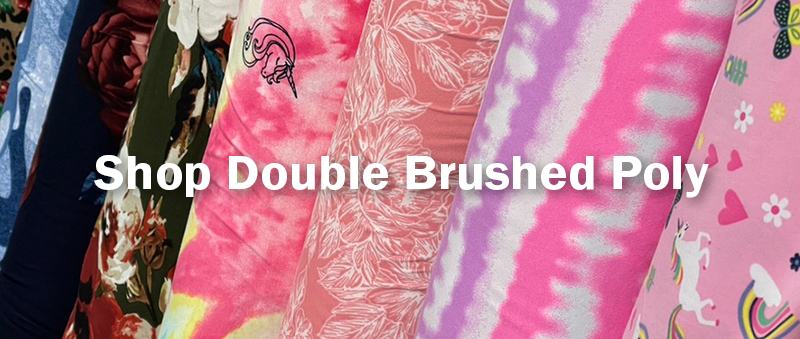 Shop Double Brushed Poly
