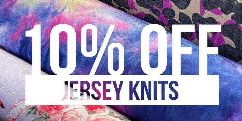 Shop Jersey Knit
