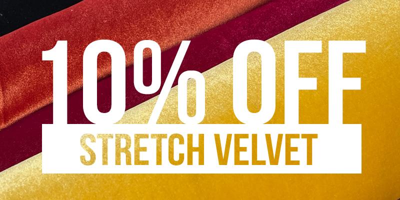 Shop Stretch Velvet
