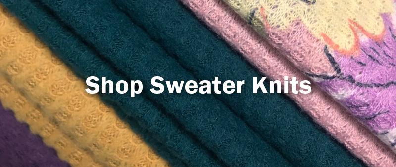 Shop Sweater Knits