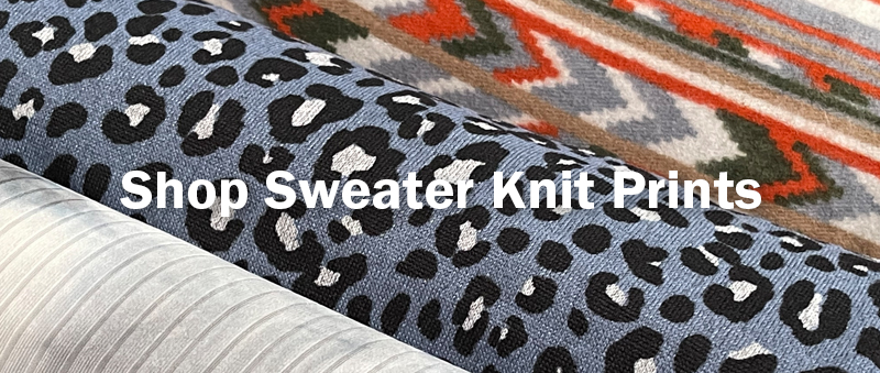 Shop Sweater Knit Prints