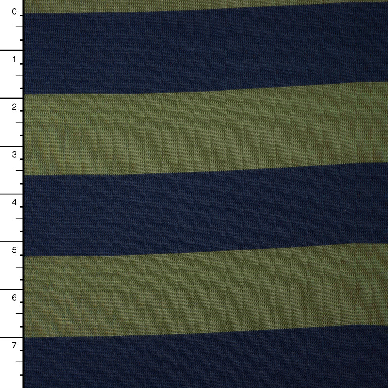 9f932dc7880 Cali Fabrics | Navy and Olive Heavyweight Cotton Jersey