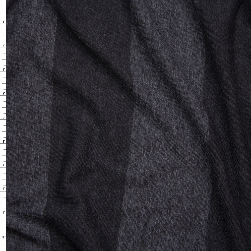 a656728dfe6 Cali Fabrics Black Wide Stripe Lightweight Jersey Knit Fabric by the ...