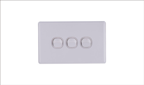 Three Gang Two Way Switch 16Amp Horizontal