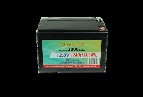 Solarking 12.8V 12AHLithium LiFePo4  Battery