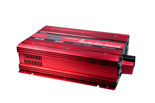 2000 Watt Pure Sine Wave Inverter with Mains Transfer Switch