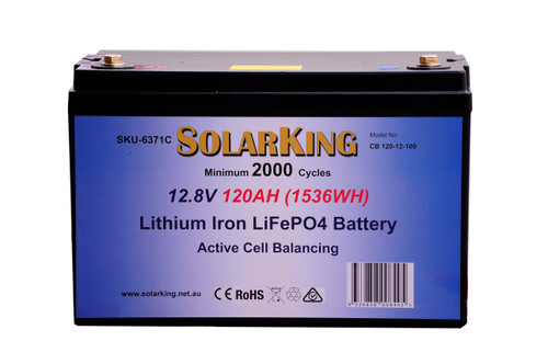 120AH Soalor Lithium Battery CB-120-12-100