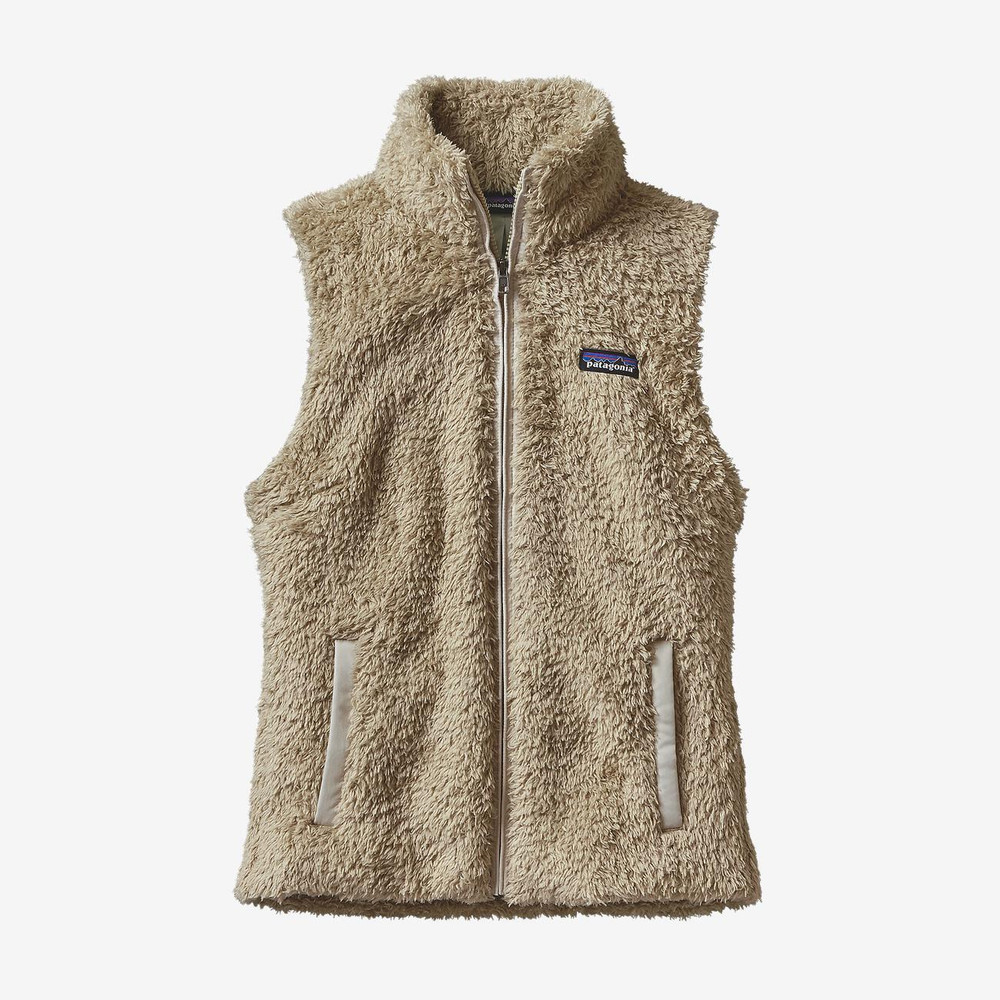 Patagonia Women's Los Gatos Fleece Vest in El Cap Khaki / ELKH