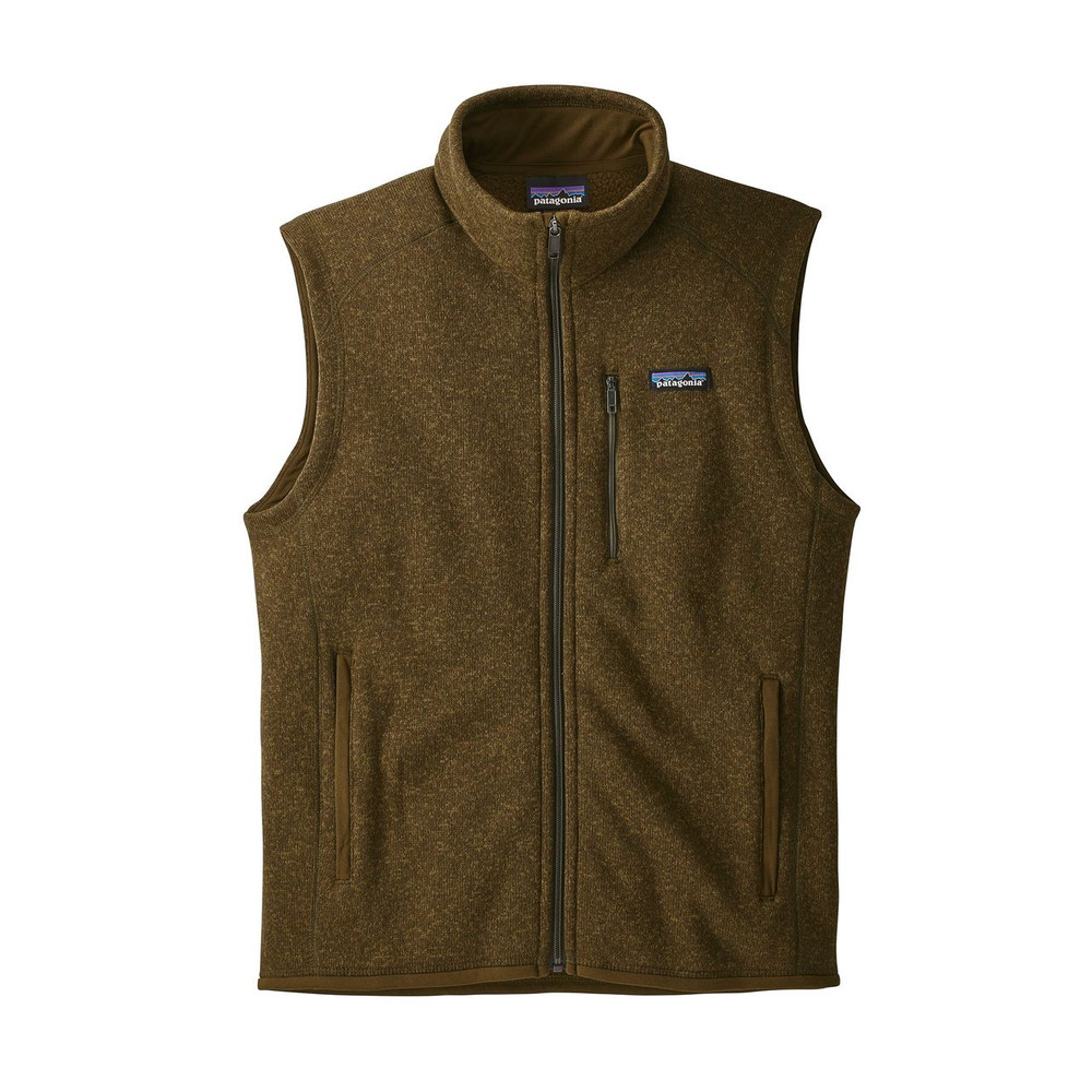 Patagonia Men's Better Sweater® Fleece Vest in Sediment / SEMT