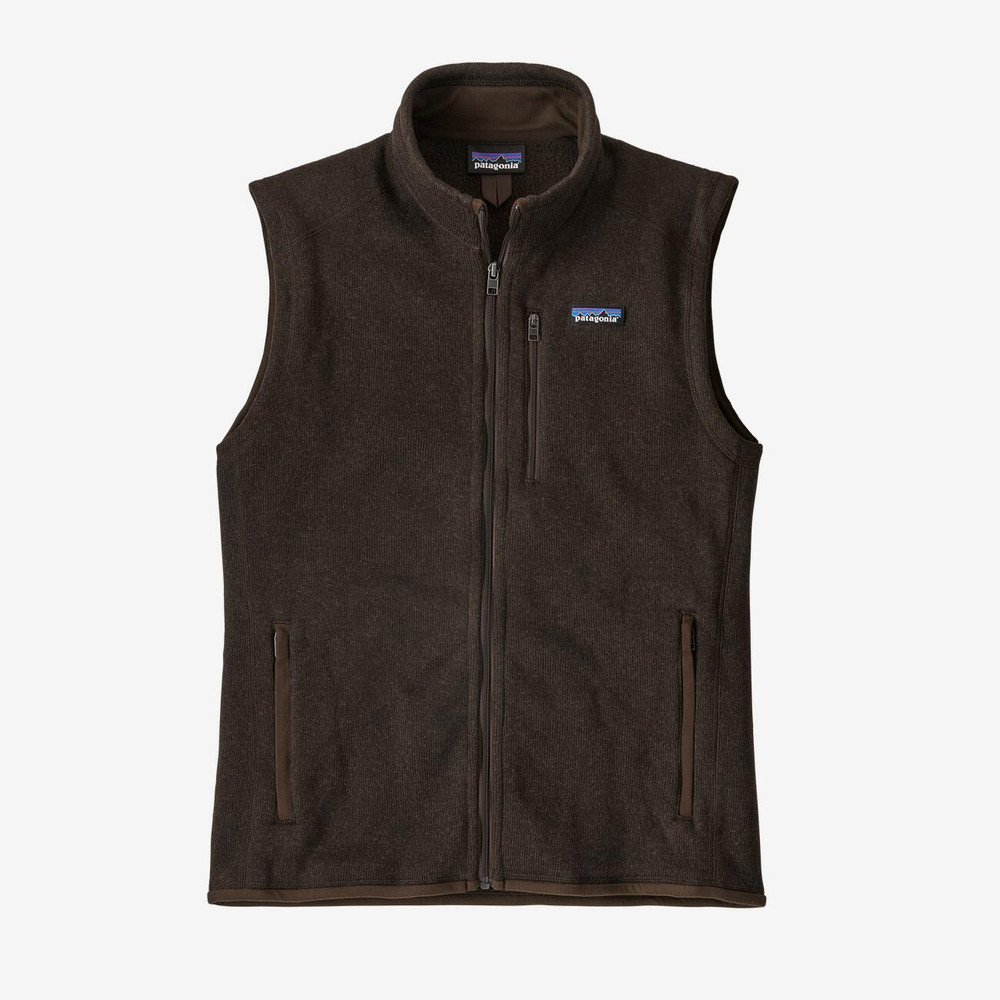 Patagonia Men's Better Sweater® Fleece Vest in Logwood Brown / LDBR