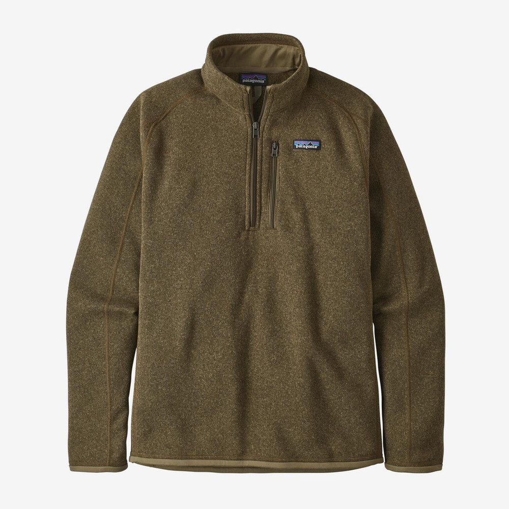 Patagonia Men's Better Sweater® 1/4-Zip Fleece in Sage Khaki / SKA