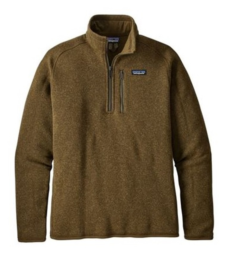 Patagonia Men's Better Sweater® 1/4-Zip Fleece in Sediment / SEMT