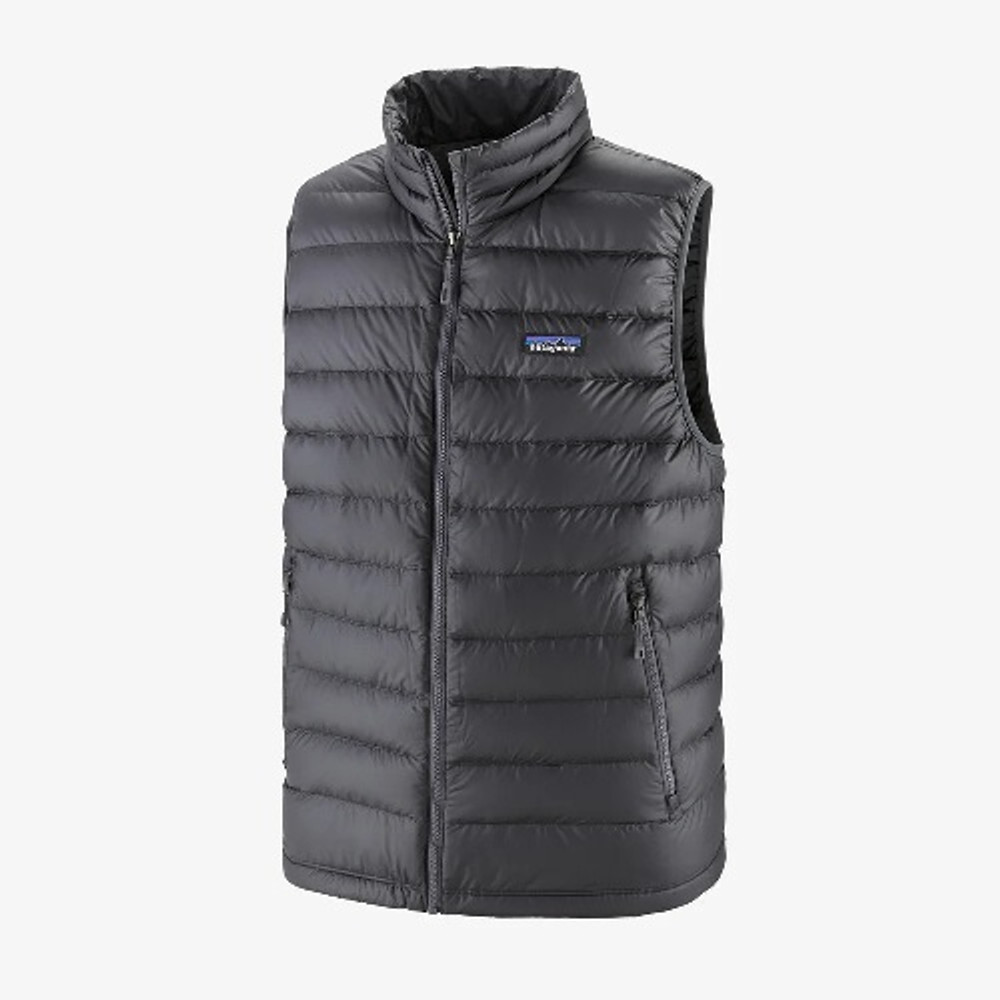 Patagonia Men's Down Sweater Vest in Forge Grey / FGE