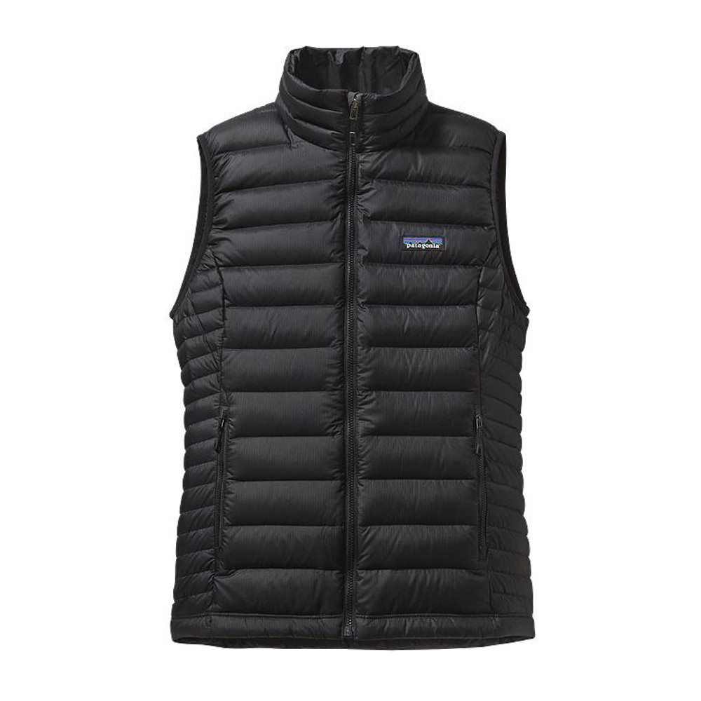 Patagonia Women's Down Sweater Vest in Black