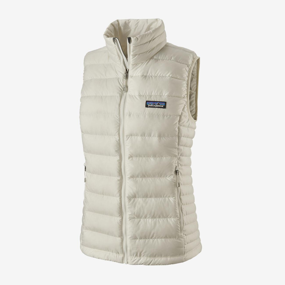 Patagonia Women's Down Sweater Vest in Birch White (BCW)
