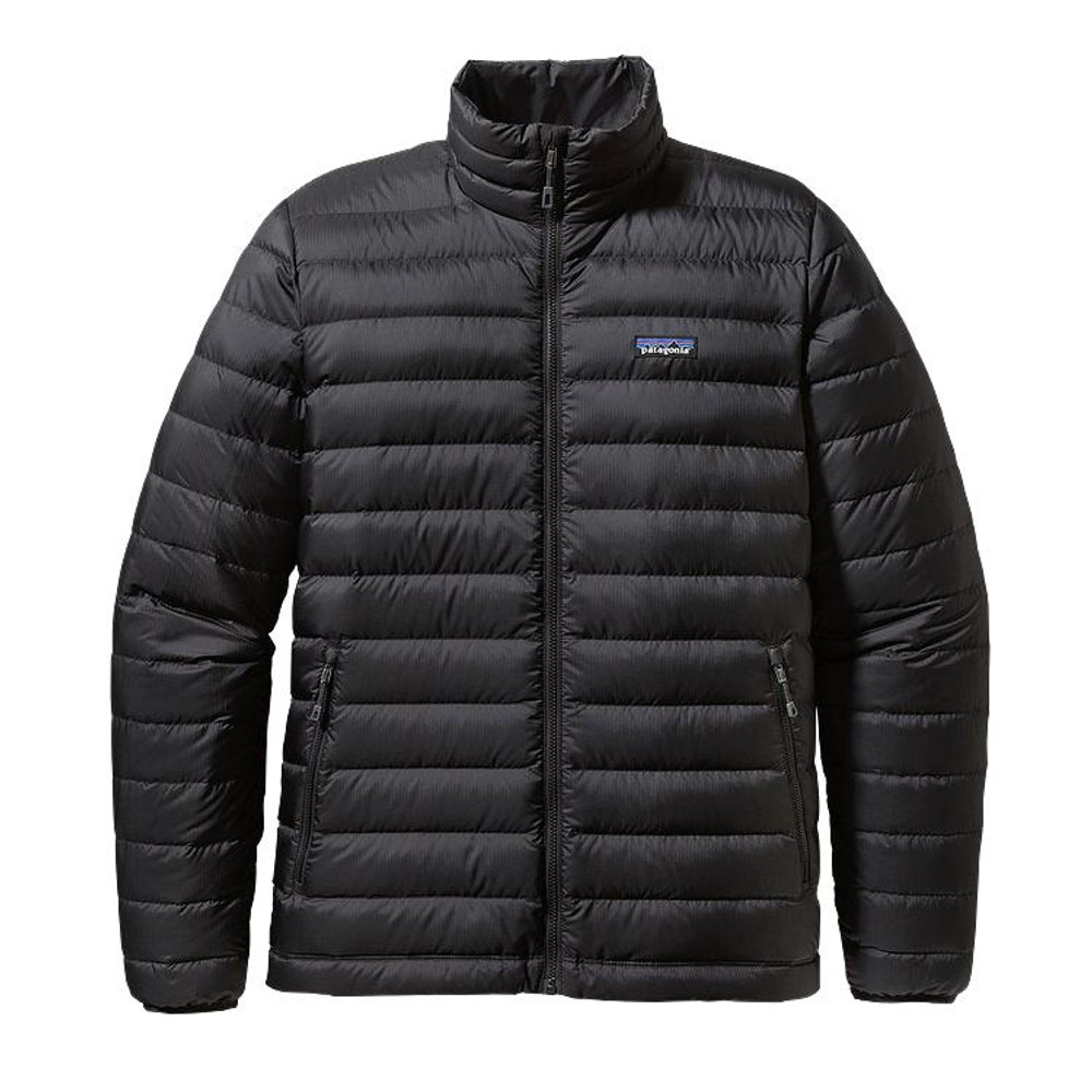 Patagonia Men's Down Sweater Jacket in Black