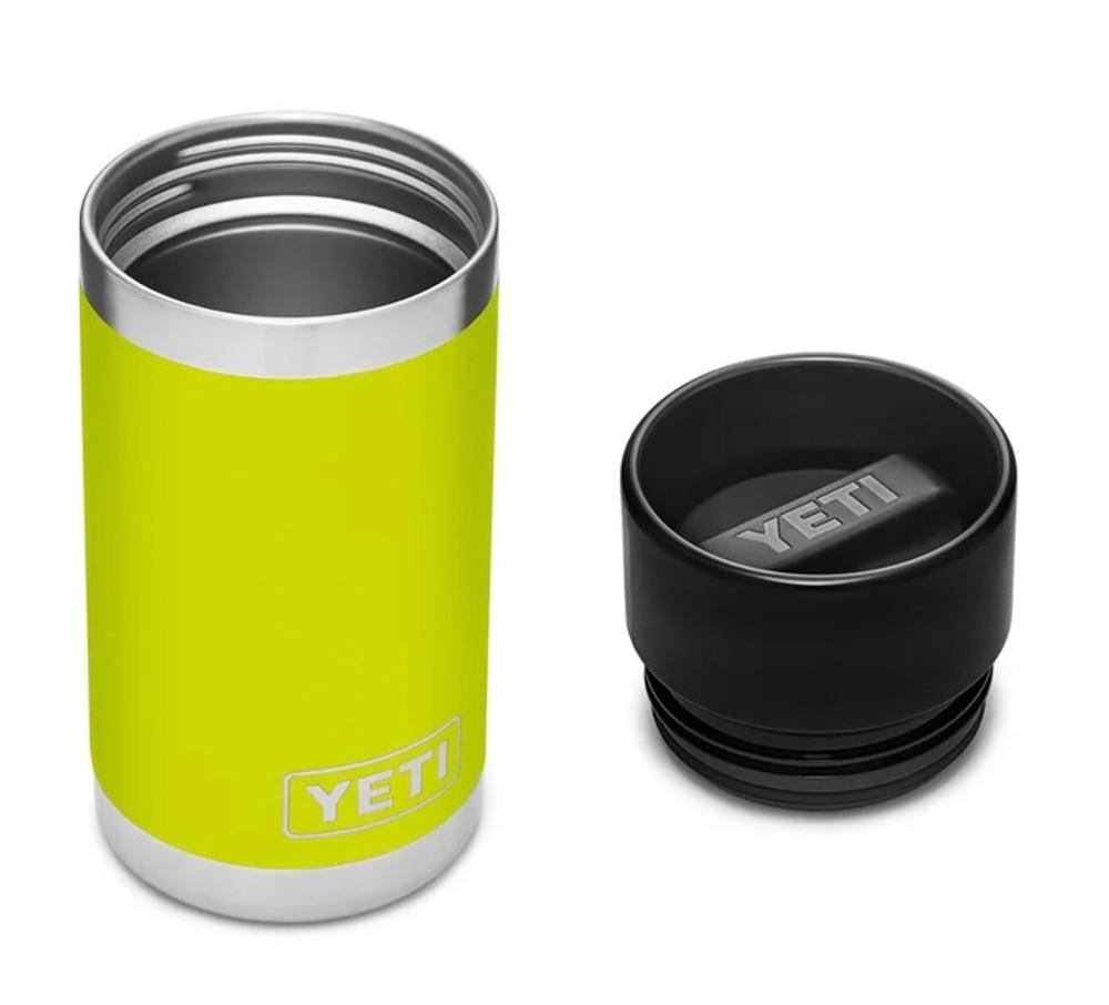 YETI Rambler 12 oz Bottle with Hotshot Cap in Chartreuse