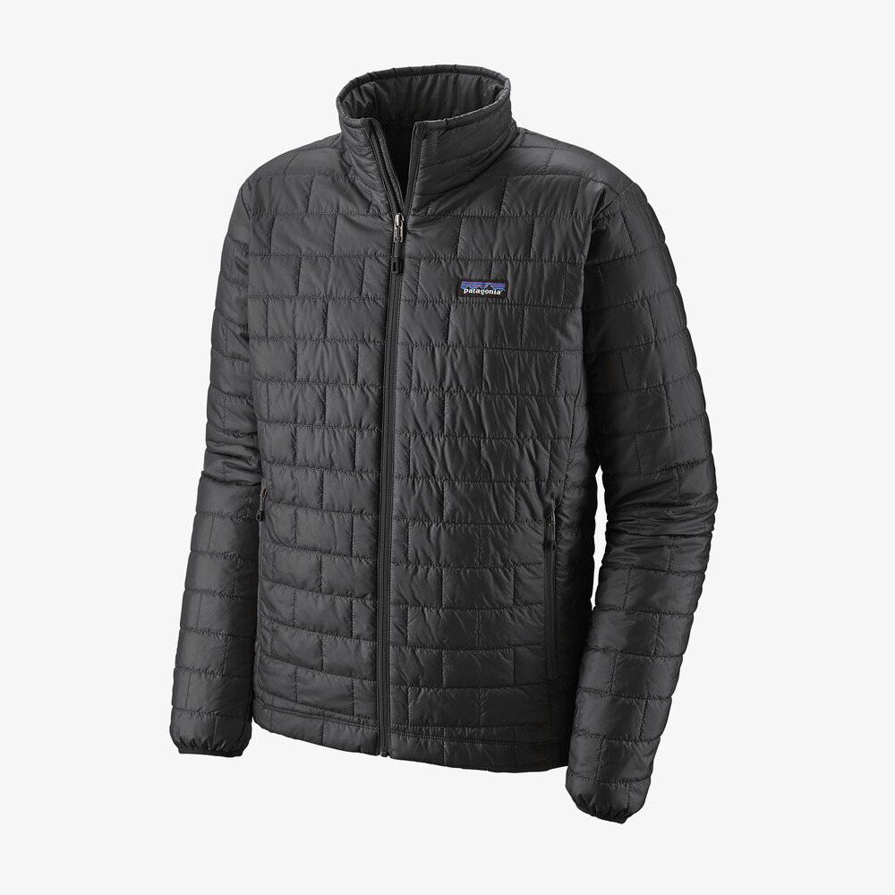 Patagonia Men's Nano Puff Jacket in Forge Grey / FGE