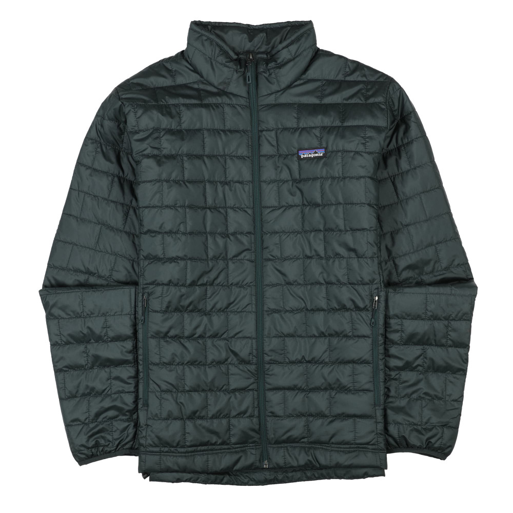 Patagonia Men's Nano Puff Jacket in Carbon w/Carbon / CACN