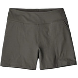 "Patagonia Women's Happy Hike Shorts - 4"" in Forge Grey / FGE"