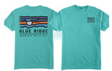 Private Label T-Shirt -Blue Ridge Moon - Short-Sleeved - Design Sample