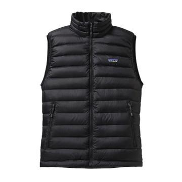 Patagonia Men's Down Sweater Vest in Black / BLK