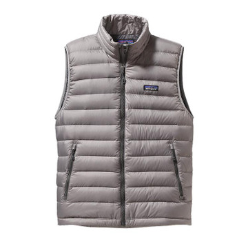 Patagonia Men's Down Sweater Vest in Feather Grey / FEA