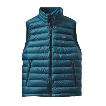 Patagonia Men's Down Sweater Vest in Deep Sea Blue / DSE
