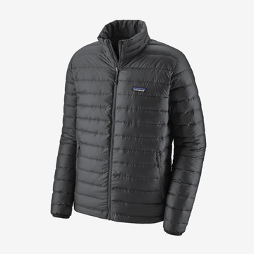 Patagonia Men's Down Sweater Jacket in Forge Grey with Forge Grey (FEG)