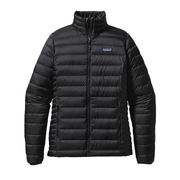 Patagonia Women's Down Sweater Jacket in Black