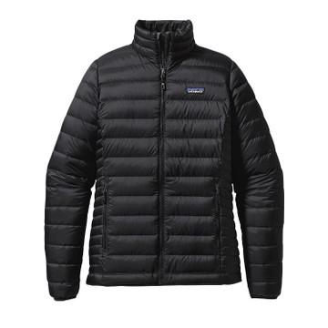 Patagonia Women's Down Sweater Jacket in Black (BLK)
