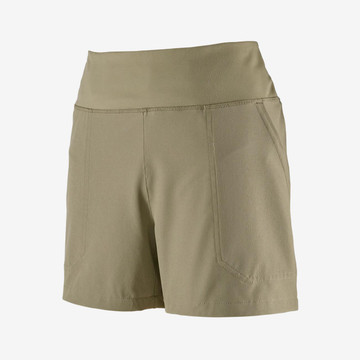 """Patagonia Women's Happy Hike Shorts - 4"""" in Shale / SHLE"""