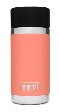 YETI Rambler 12 oz Bottle with Hotshot Cap in Coral