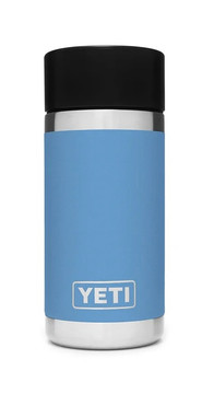 YETI Rambler 12 oz Bottle with Hotshot Cap in Pacific Blue