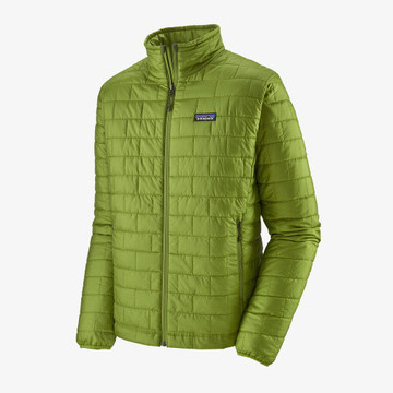 Patagonia Men's Nano Puff Jacket in Supply Green / SPYG