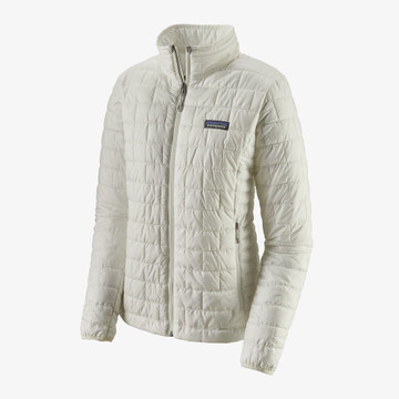Patagonia Women's Nano Puff Jacket in Birch White / BCW