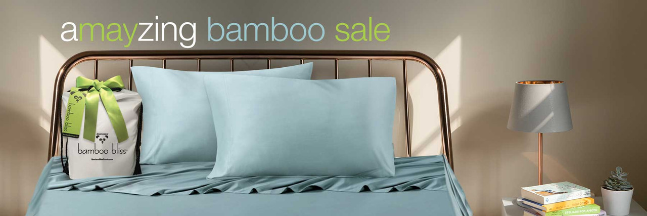 There are many natural benefits to sleeping on bamboo bedding, besides the fact that they are AMAZINGLY soft!  Bamboo fibers have incredible anti-bacterial properties.