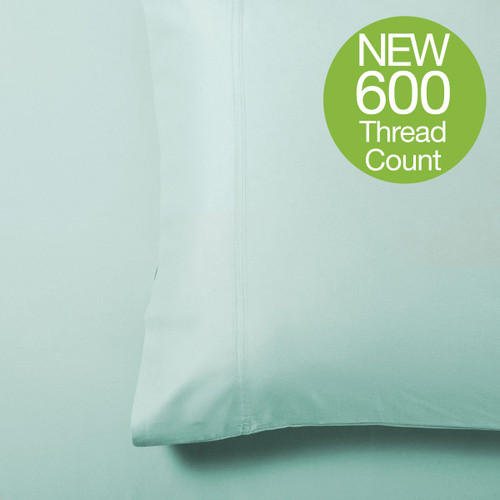 Bliss Grand Luxe Bamboo Pillowcase Set - Seaglass - *NEW 600 Thread Count