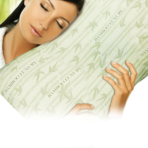 Bamboo Luxury Memory Foam Pillow from Bamboo Bliss