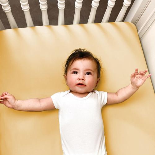 Baby Bliss Bamboo Crib Sheets