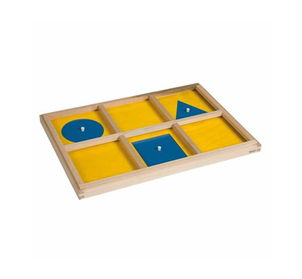The Geometric Cabinet Demonstration Tray (Nienhuis)