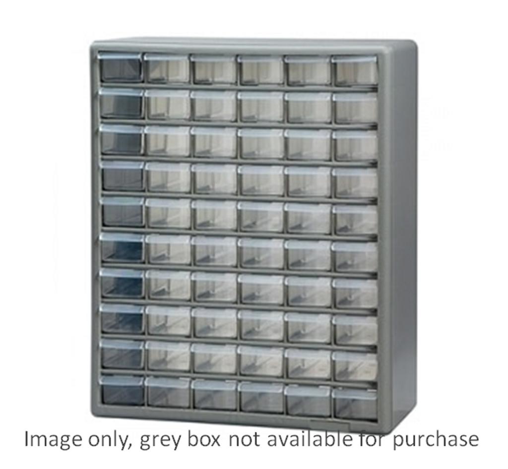 60 drawer plastic cabinet