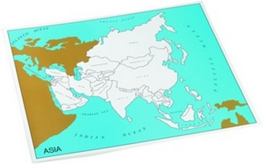 Control chart of Asia, countries