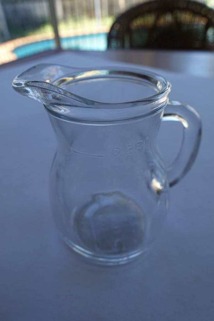 250 ml glass jug