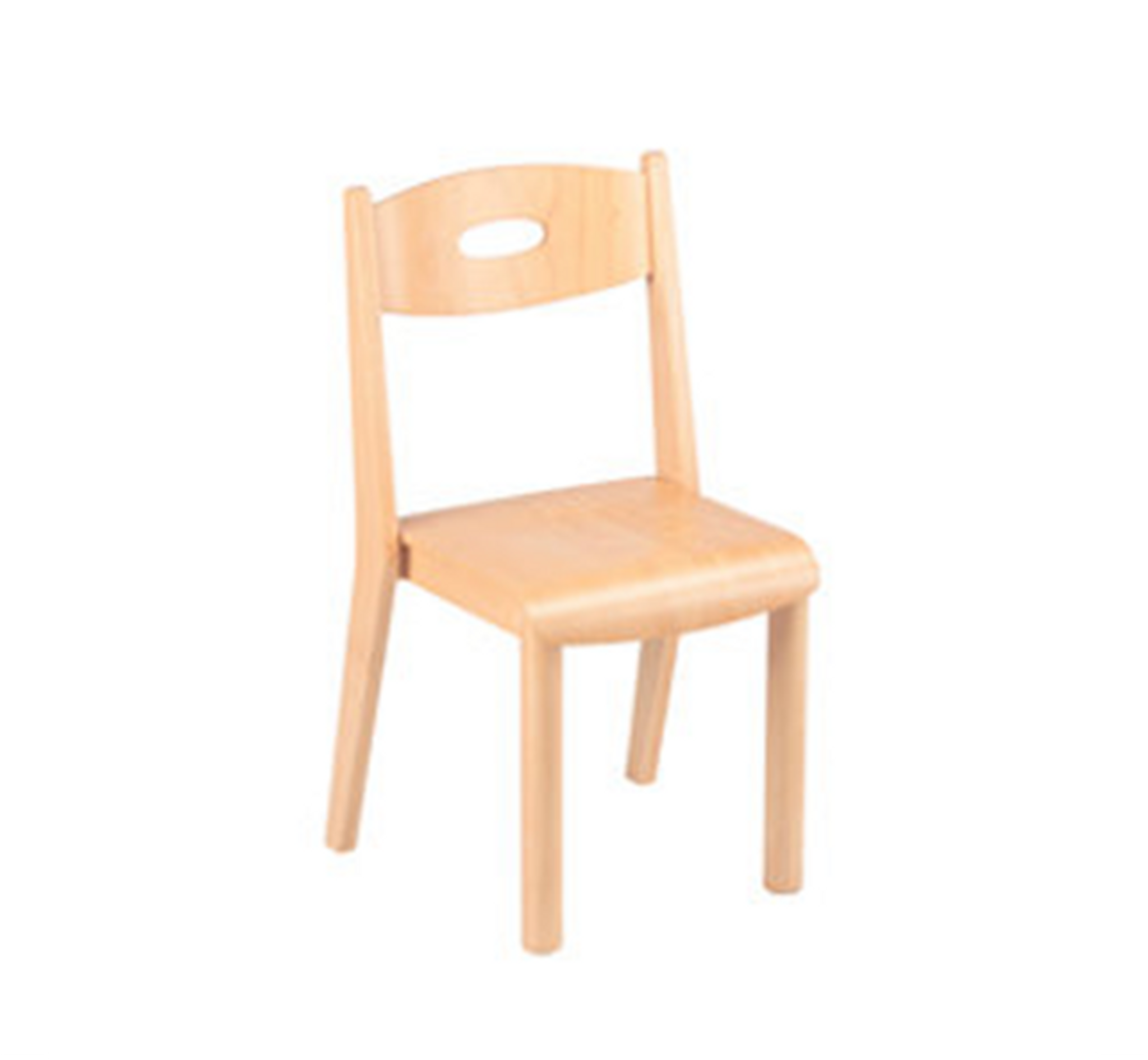 Stackable Wooden Chair - Multiple Sizes Available