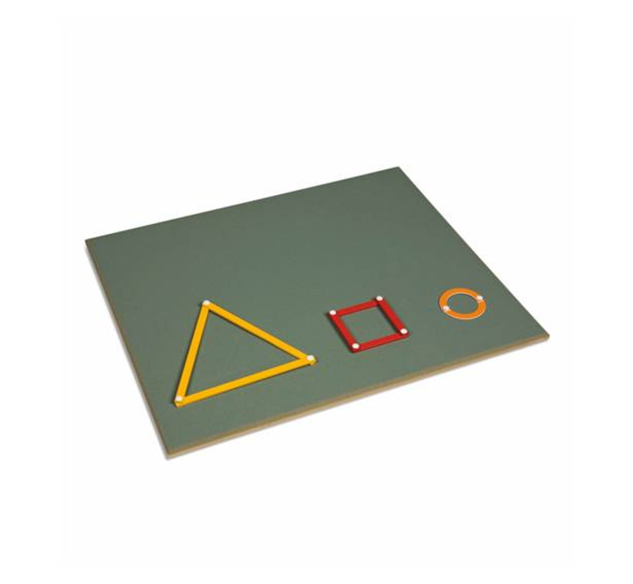 Large Working Board For The Geometric Stick Material (Nienhuis)