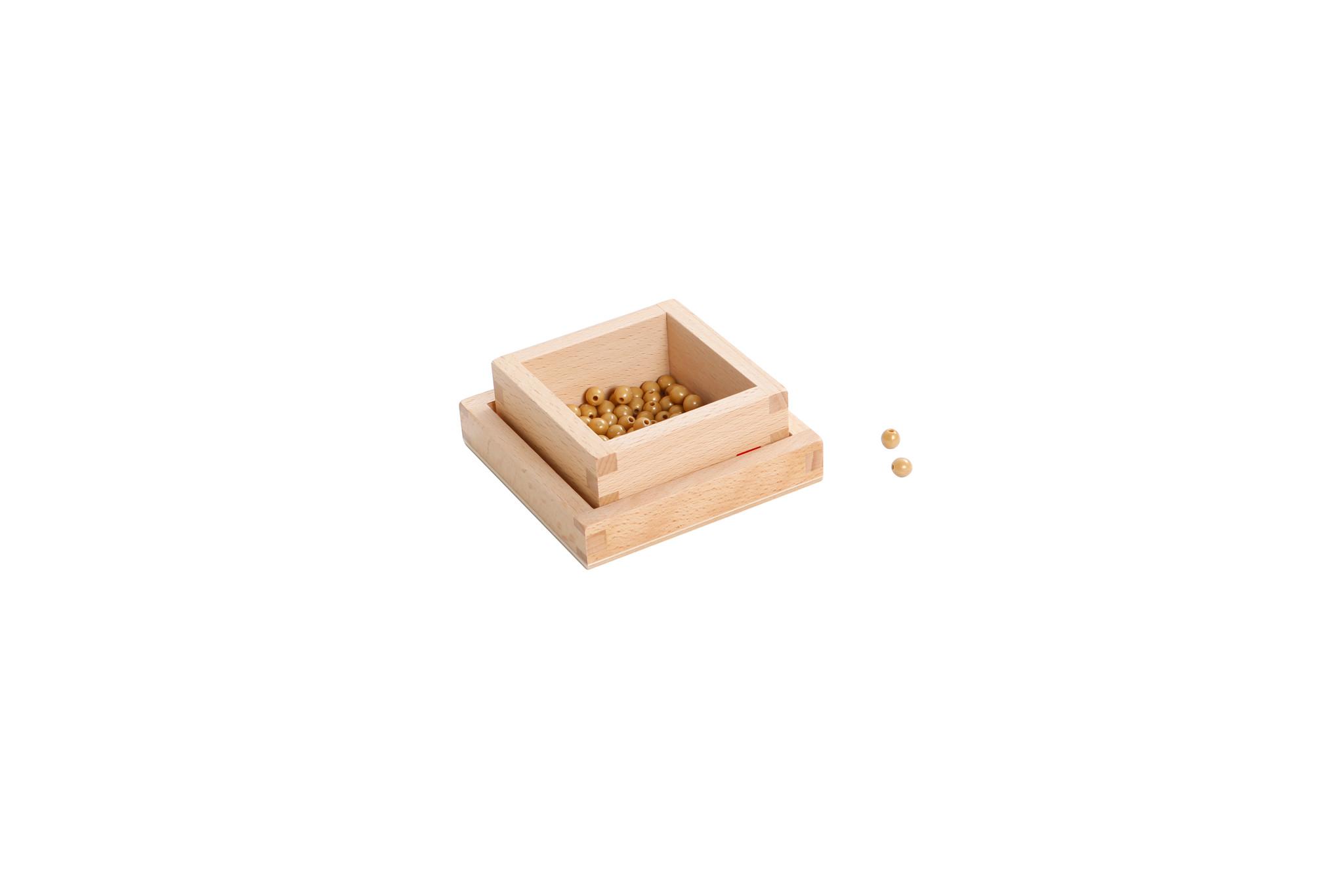 100 Golden Bead Units
