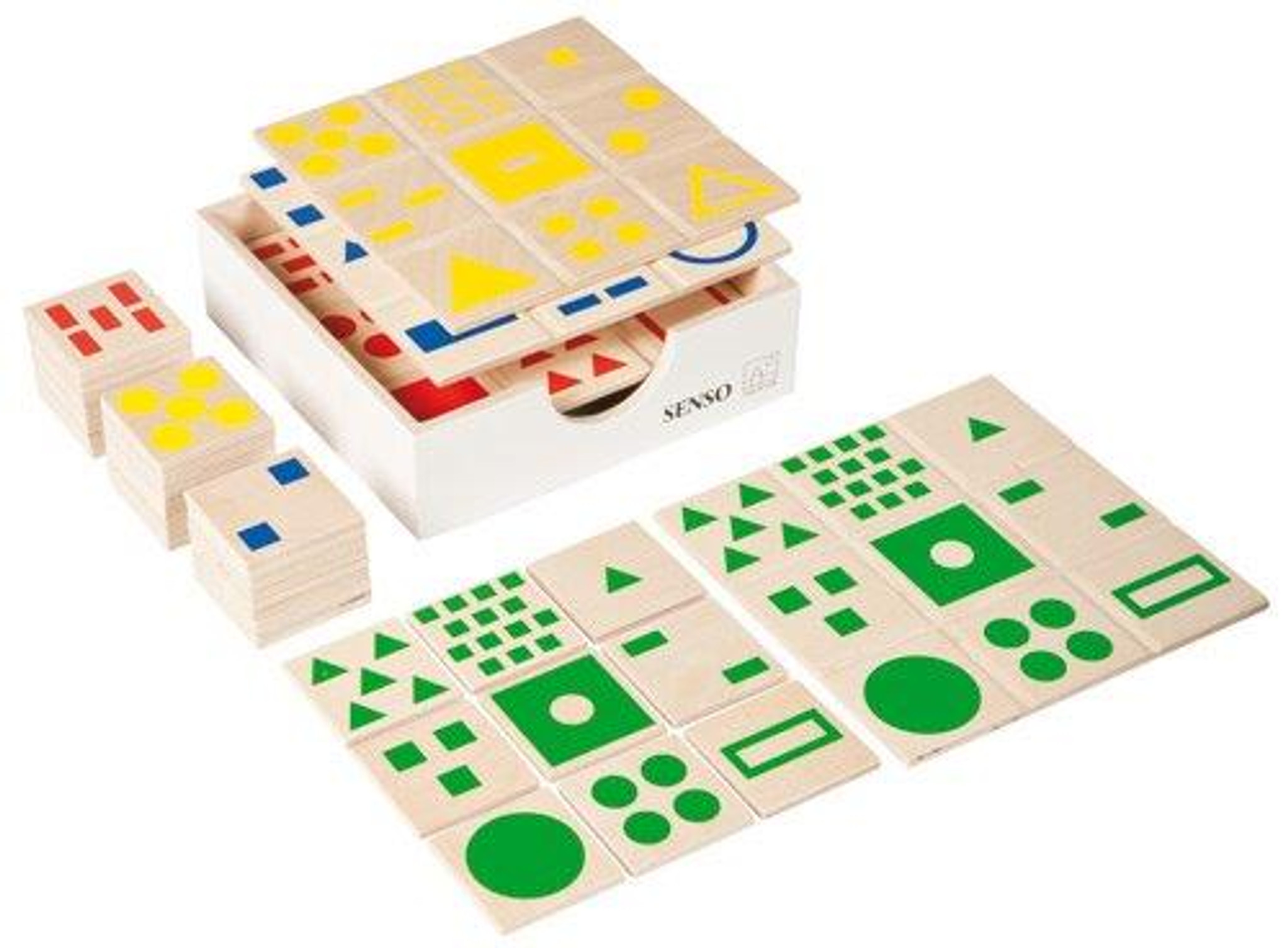Senso-Sensorial Game-(4 boards and 36 pieces)